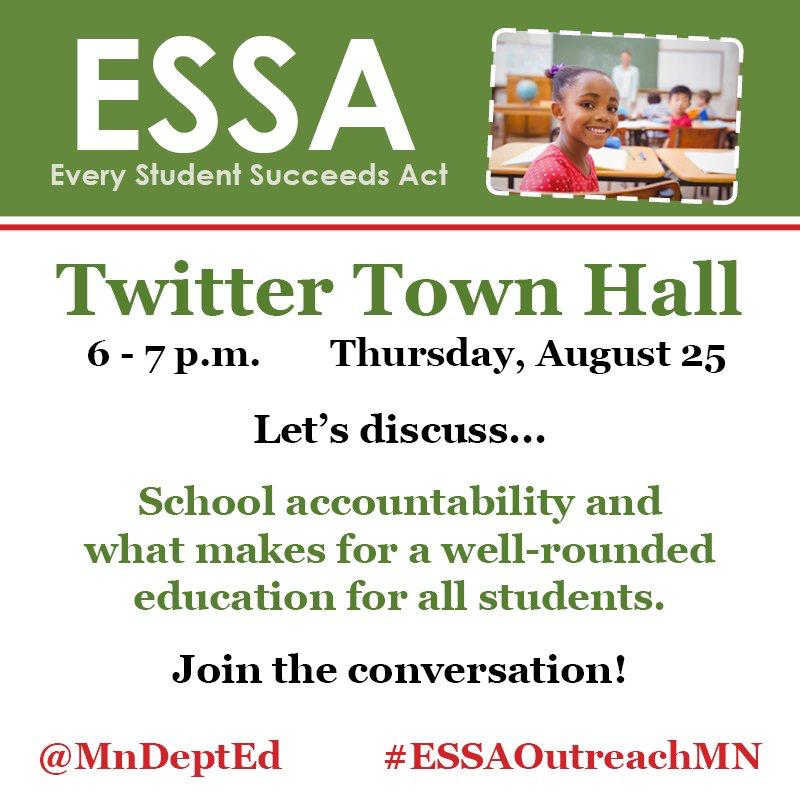 MDE-ESSA-TwitterTownHall