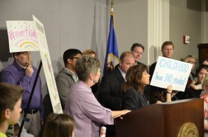 St. Paul Superintendent Valeria Silva answered questions from reporters following Monday's press conference.